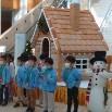 ホテル・メルパルク長野で「サンタの家」展示!!